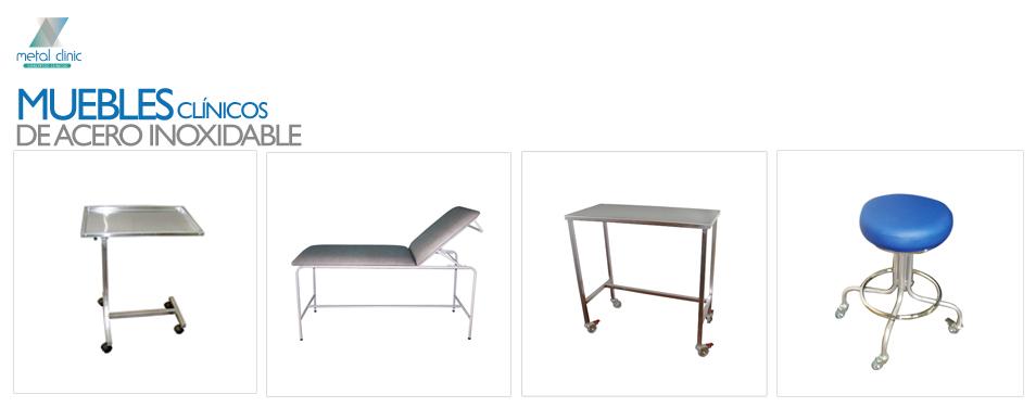 Metal clinic muebles clinicos en acero inoxidable for Muebles en acero inoxidable bogota